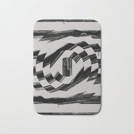 Distorted B.G Bath Mat