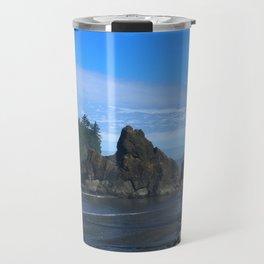 Morning At Ruby Beach Travel Mug