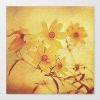 vintage floral Canvas Prints featuring Vintage Floral by Joel Olives