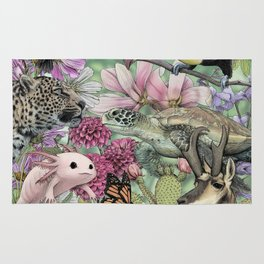 Flora and Fauna of Mexico Rug