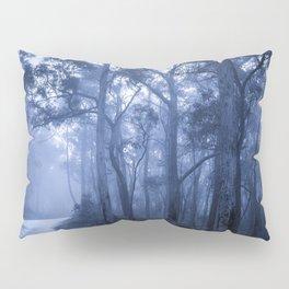 Dark Misty Road Pillow Sham
