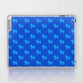 Dogs-Blue Laptop & iPad Skin