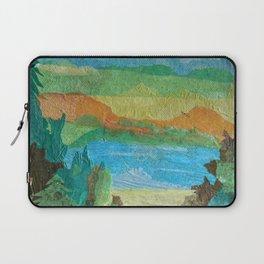 Tissue paper landscape Laptop Sleeve