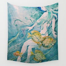 Fathom Mermaid Wall Tapestry