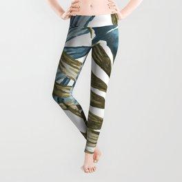 TROPICAL LEAVES 5 Leggings