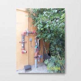 WATERWORKS Metal Print