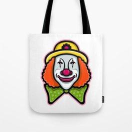 Circus Clown Mascot Tote Bag