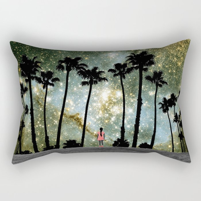Paradise Galaxy Dream Rectangular Pillow