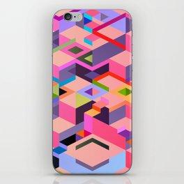 Isometric Chaos iPhone Skin