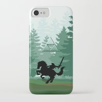 legend of zelda iPhone & iPod Cases featuring Legend Of Zelda by Kesen