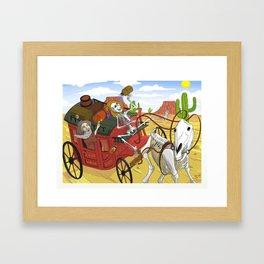 The Ferryman Framed Art Print