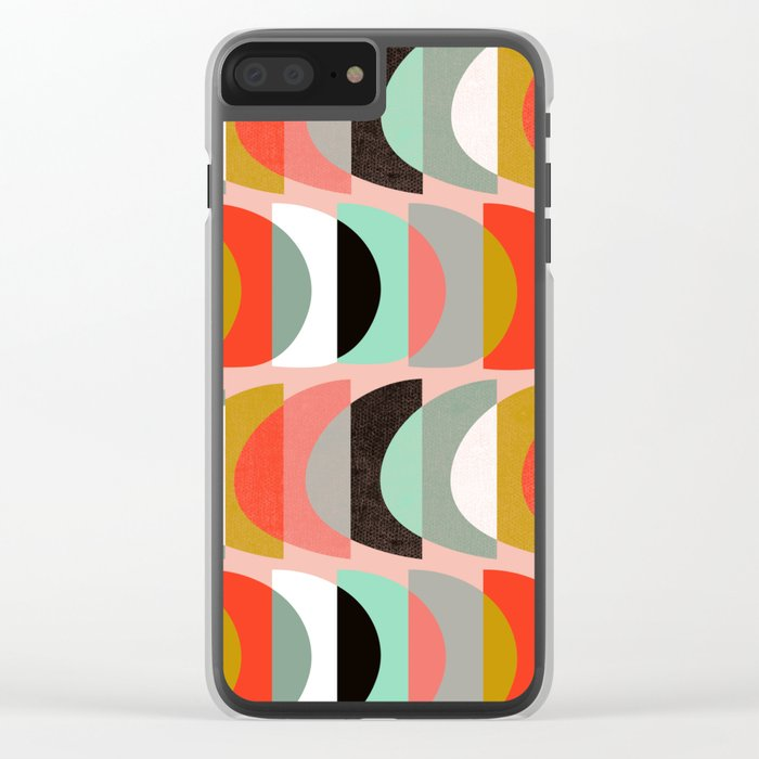 What Color Is The Moon II Clear iPhone Case