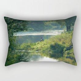 Talking to the Nature Rectangular Pillow