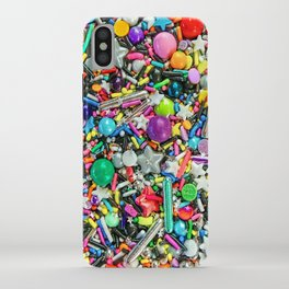 Rainbow Sprinkles - cupcake toppings galore iPhone Case