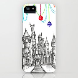 Party at Hogwarts Castle! iPhone Case