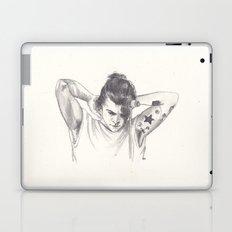 Harry Styles (with a bun) Laptop & iPad Skin
