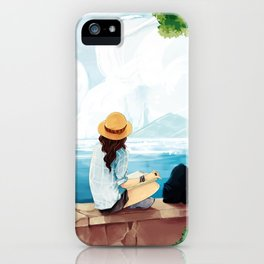 Trip to the sea iPhone Case