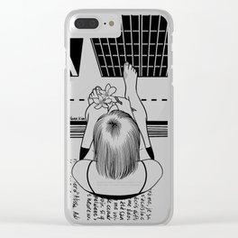 The End of the Story Clear iPhone Case