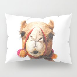 Camel Portrait Pillow Sham