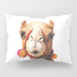 Camel Portrait Pillow Sham