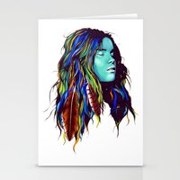 dreamer Stationery Cards featuring Dreamer by Peter Fulop