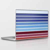 ponyo Laptop & iPad Skins featuring The colors of - Ponyo by hyos