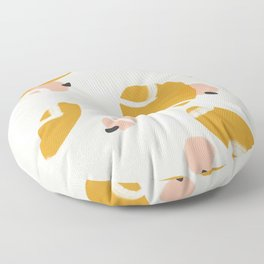 Abstract Fall III #society6 #abstractart Floor Pillow