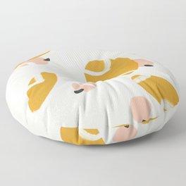Abstract Fall III Floor Pillow