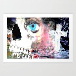 """""""Dead Lolita"""" Art Print"""