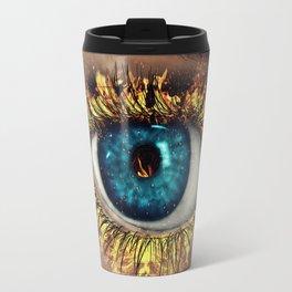 Eye in Flames Travel Mug