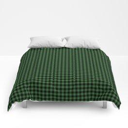 Mini Black and Dark Green Cowboy Buffalo Check Comforters