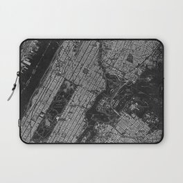 Central Park New York 1947 vintage old map for office decoration Laptop Sleeve