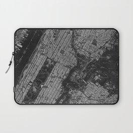Central Park New York 1947 vintage old map for office decoration Laptop Sleeve