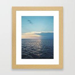 stretch across Framed Art Print