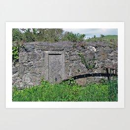 Churchyard Wall Art Print