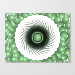A Touch of the Green Eye Canvas Print