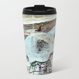 Crab Cages and The Cove Travel Mug