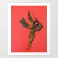 erotic Art Prints featuring Erotic by Monika Iatrou