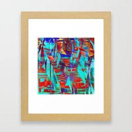 kicker Framed Art Print