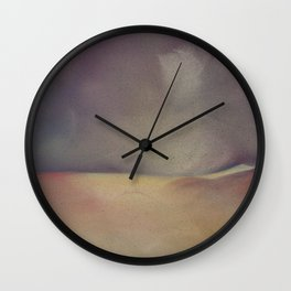 Mighty Purple Wall Clock