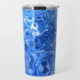 Blue Blues Lava Flow Travel Mug