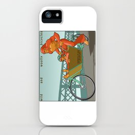 Sasquatch: Wild and Woolly Bicycles iPhone Case