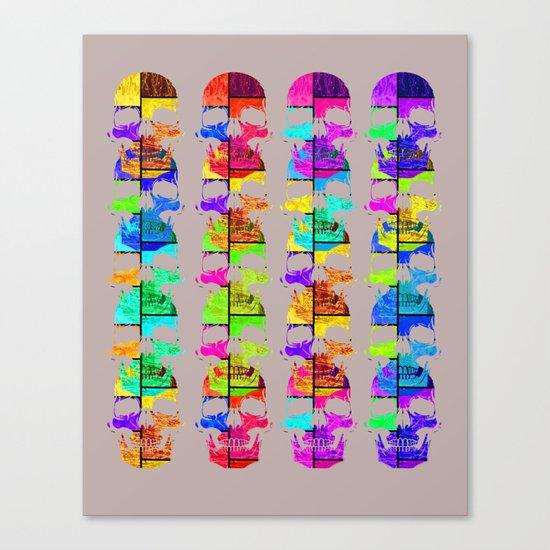 Skullk Canvas Print