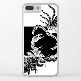 A Scorpion War Clear iPhone Case