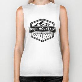 High Mountain Summer Camp Biker Tank