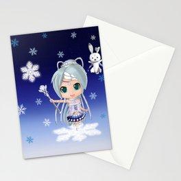 Snow Miku 2019 Nendroid Version (Self Design) Stationery Cards