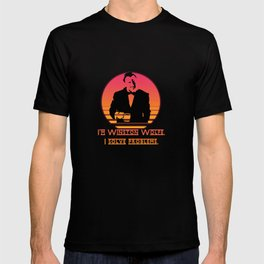 Winston Wolfe. I solve problems T-shirt