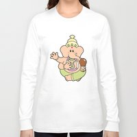 ganesha Long Sleeve T-shirts featuring Ganesha by Andrés Diplotti