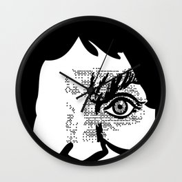 i'm not here to make you laugh Wall Clock