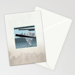 The Unsinkable Double-Sided Ship Stationery Cards